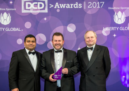 Management of Teraco on stage DCD Awards 2017